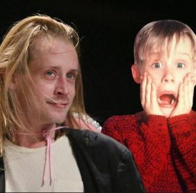 Macaulay Culkin then and now, 2014