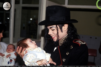 Michael visited an orphanage in Romania in 1992 when on a Dangerous tour