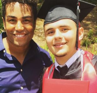 Prince Jackson graduated from high school with honors