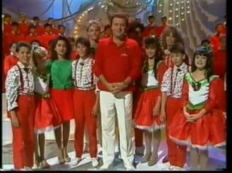 The Young Talent Time Team in its last episode on December 1988