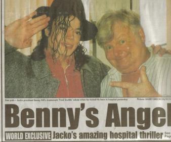 Benny Hill's angel.