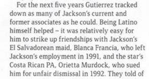 GQ 2006 magazine about Gutierrez