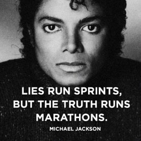 lies run sprints, but the truth runs marathons 1