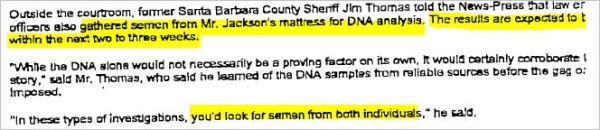 Sept.23, 2004 Jim Thomas about DNA on February 14, 2004