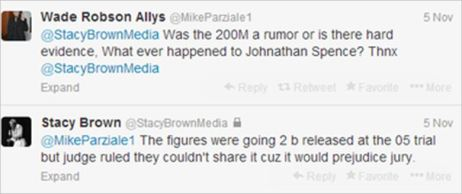 Stacy Brown's lie