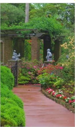 Hillwood statues of children2