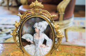 Marjorie Post portrayed as Marie Antoinette. Hillwood museum