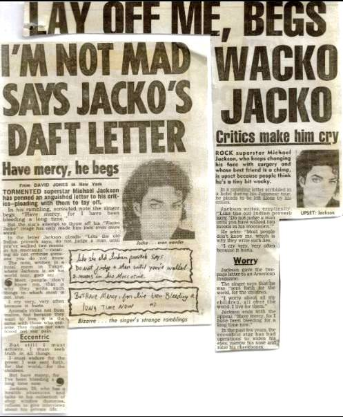 Bad tour - I'm not mad says Jacko