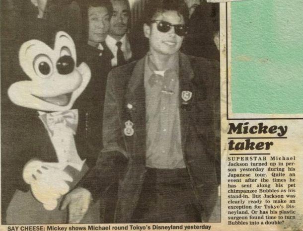 Bad tour - Mickey taker
