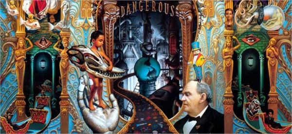 Dangerous album cover - centerpiece.JPG