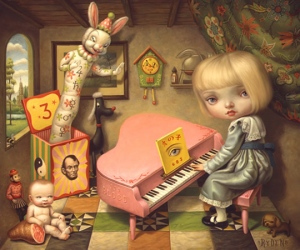 Mark Ryden - the Ecstacy of Cecelia, 1998