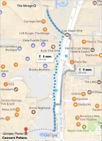 mirage-hotel-caesars-palace1-8-mins-walk