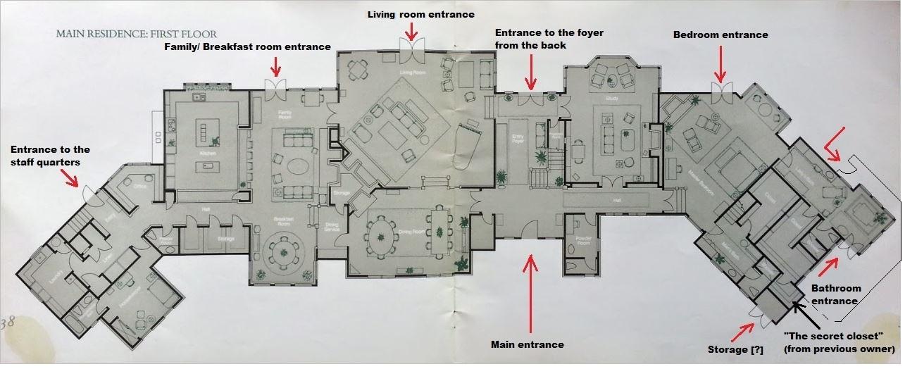 neverland-floor-plan-of-main-house-original-brochure-entrances