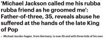 Jacobshagen 'father of three'